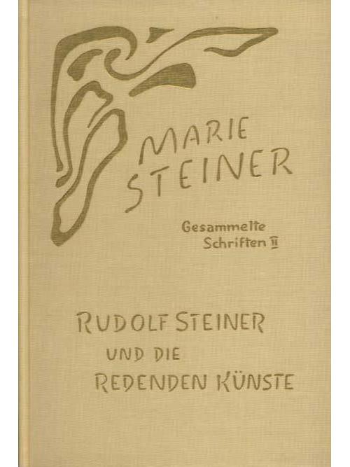 Eurythmie producten Rudolf Steiner und die Redenden Künste -  9783727451690