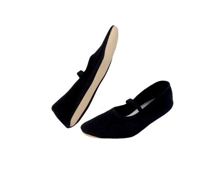 Eurythmie schoenen - Zwart